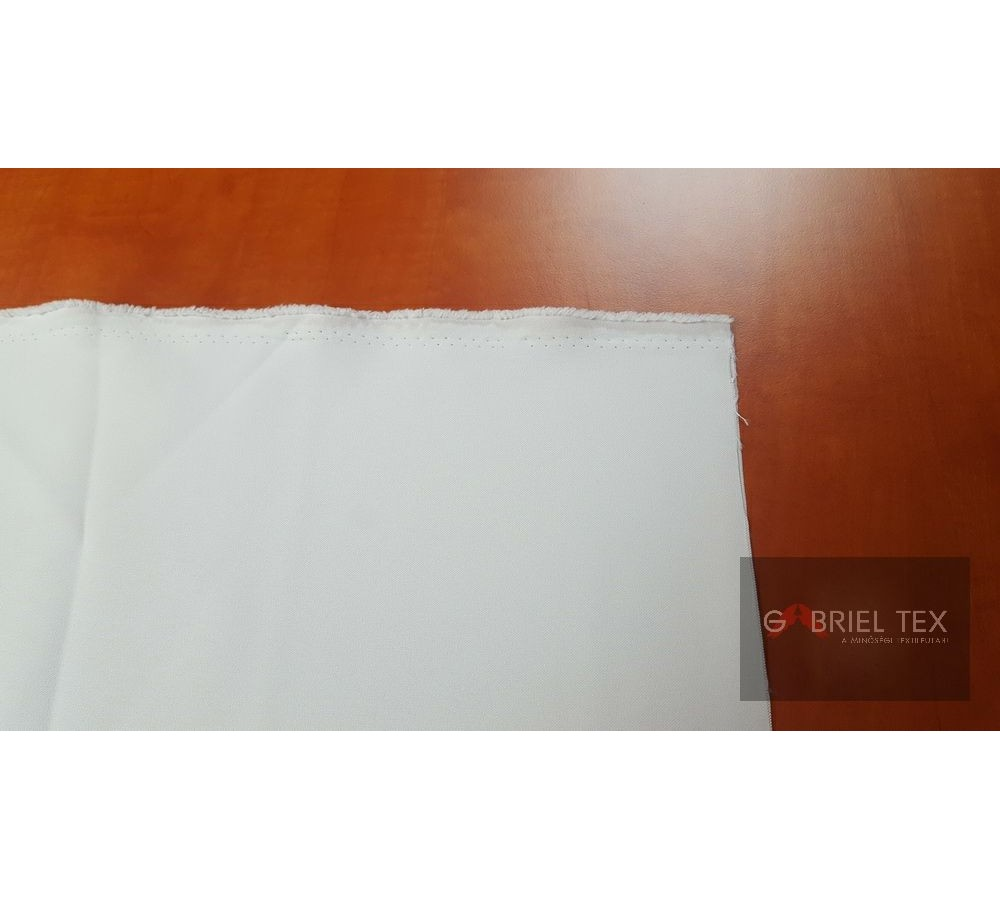 Polyester seat cushion white