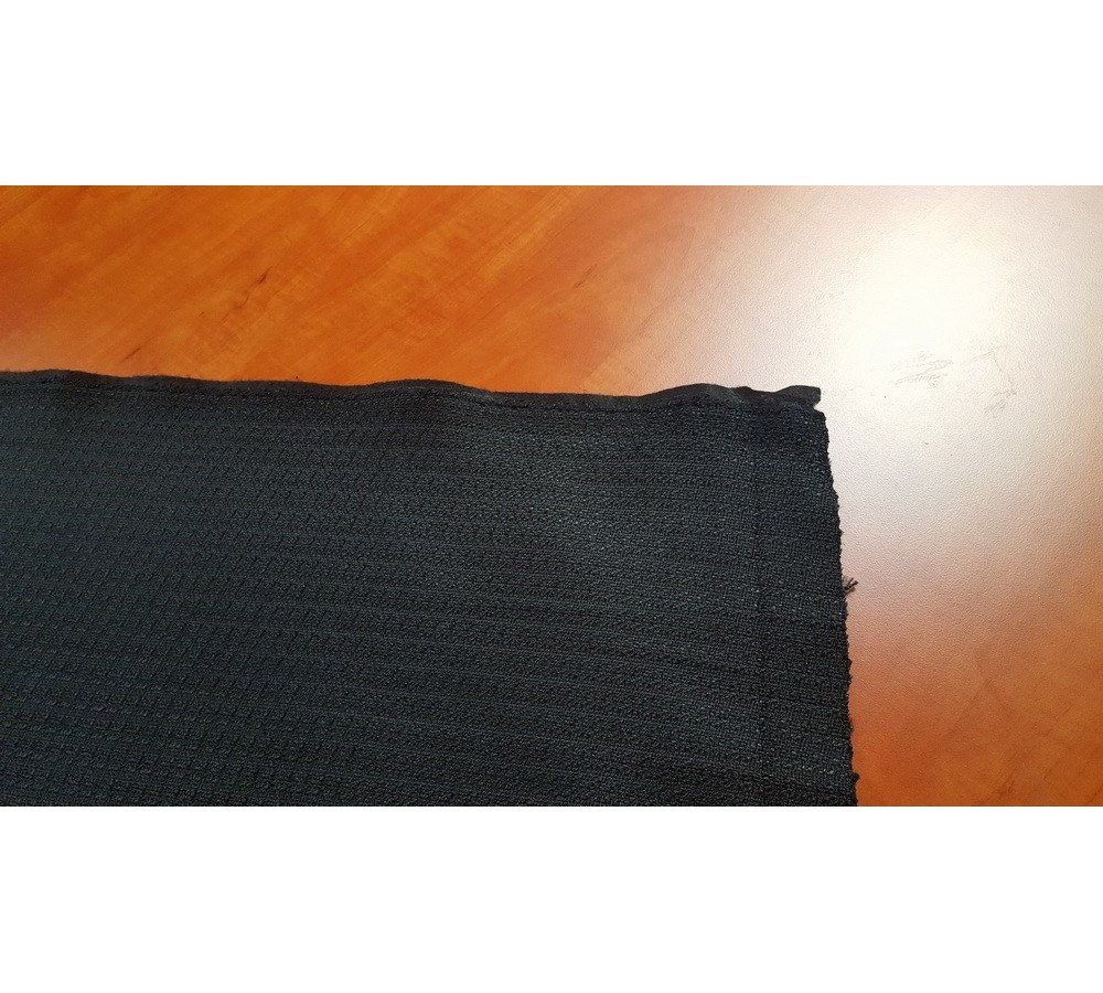 Furniture textile black seat cushion