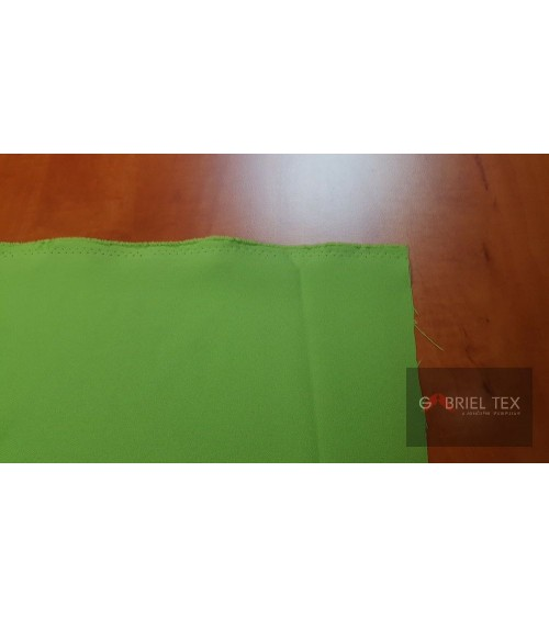 Green polyester wallcover