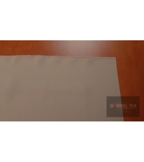 Beige polyester wallcover