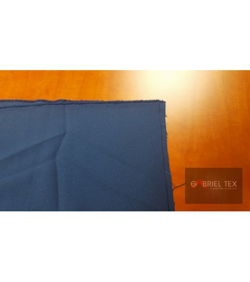 Middle blue polyester wallcover