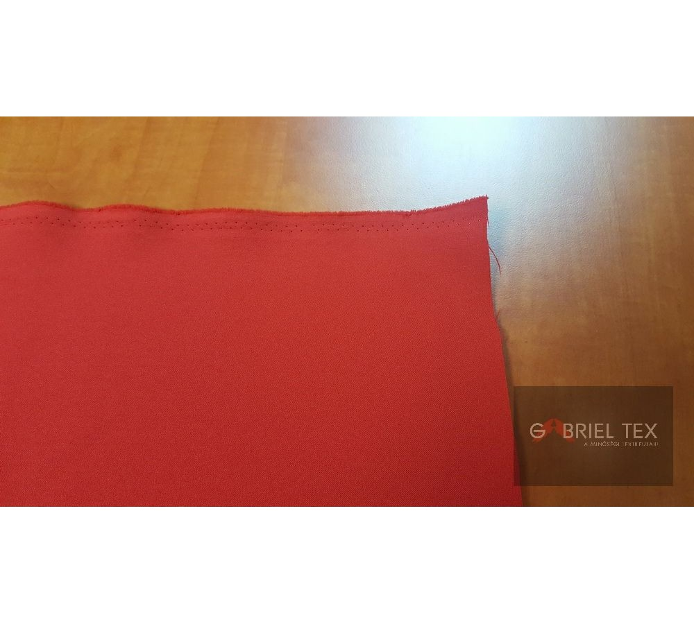 Red polyester wallcover