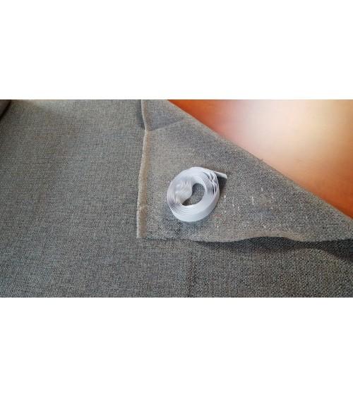 Grey wallcover