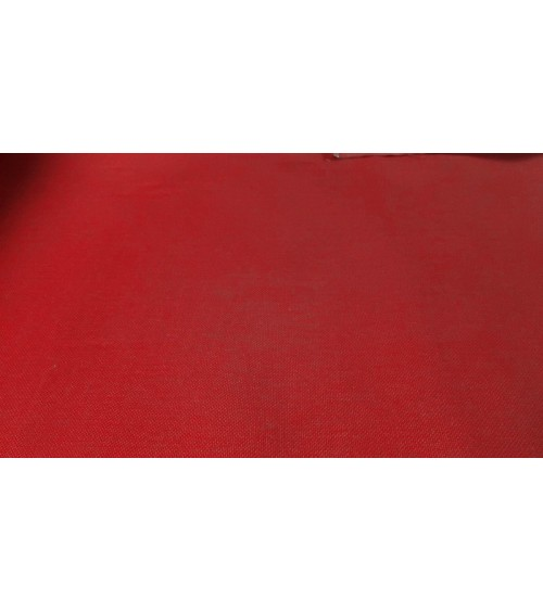 Red colored chenille