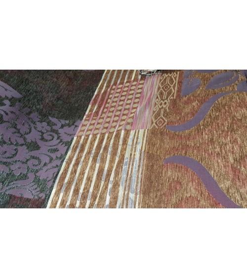 Many figured furniture textile