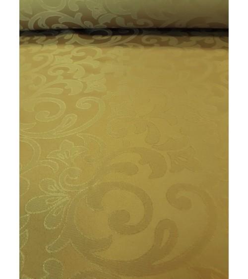 Fehér, ferdepánntal szegett teflonos terítő 200x140 cm