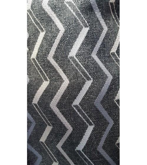 Wave figured linen furniture textile