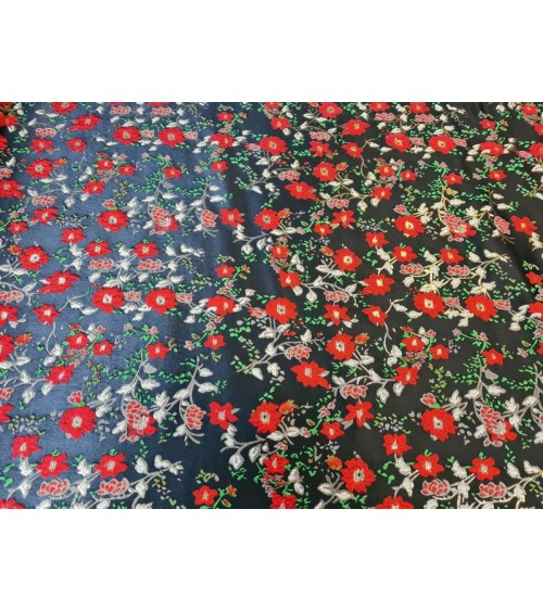 Flower figured textile