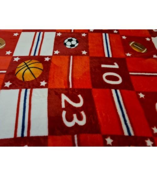 Basketball figured soft wallcover