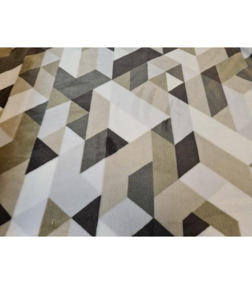 Modern brown figured soft wallcover