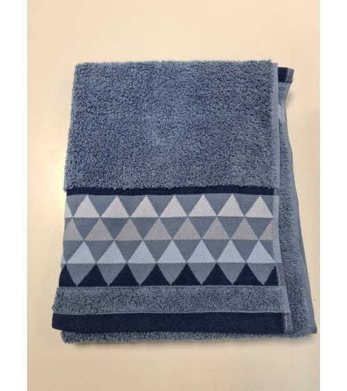 Blue small towel