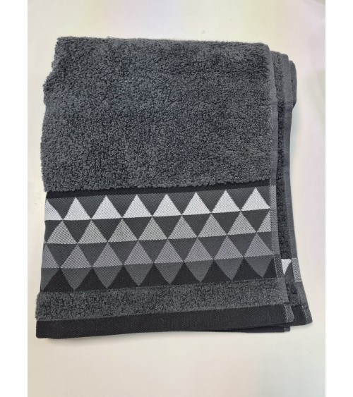 Dark grey small towel