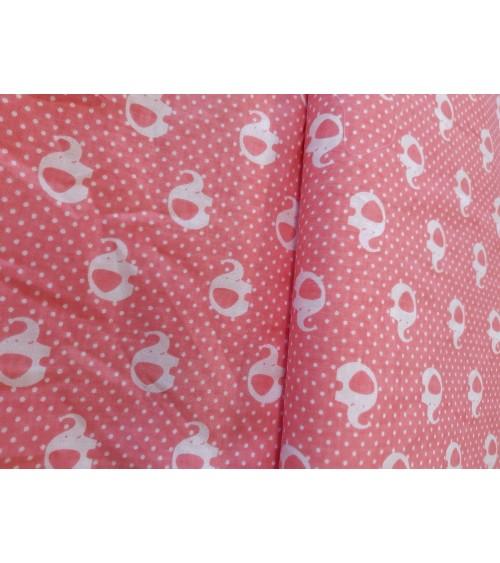 Rózsaszín elefántos  vászon