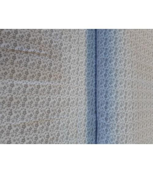 Szürke apróvirágos  vászon