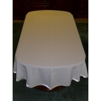 Polyester oval table cloths