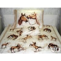 Cotton-satin beddings